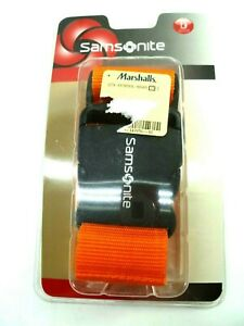 Samsonite Luggage Strap Belt Travel Accessory Juicy Orange $12.99