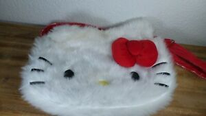Loungefly Hello Kitty Furry Face Purse