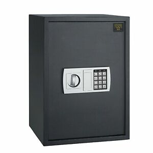 Large Electronic Digital Safe Jewelry Home Secure Lock Safe 45 Pds Heavy $128.99