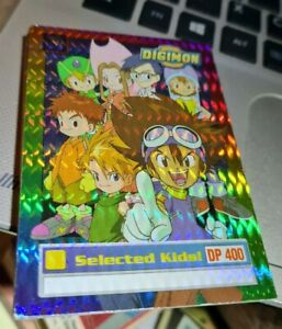 Holographic Selected Kids 1 Of 34 Digimon Trading Card