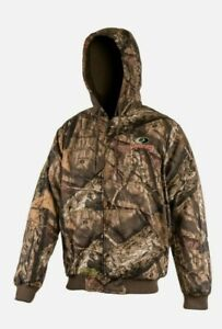 Mossy Oak Break Up Country Mens Bomber Jacket Coat Insulated Camo Hunting Large $41.99