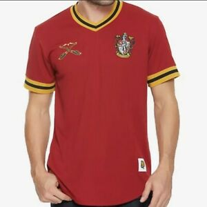 Harry Potter Gryffindor Quidditch Jersey Mens Small Brand New with tags $49.95