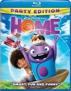 Home Blu ray DVD 2015 2 Disc Set Includes Digital Copy Party Edition New $7.49
