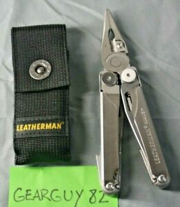Leatherman Wave Plus Multi Tool with Black Nylon Sheath pouch Stainless B 90