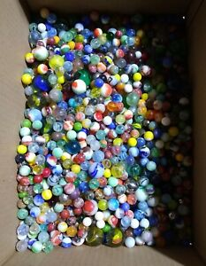 Lot of 50 Antique Vintage MARBLES Estate Sale Find Many Lots Available $12.00