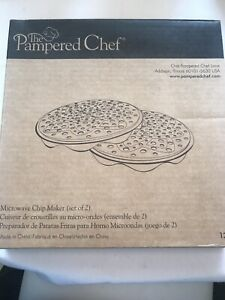 Pampered Chef Microwave Chip Maker #1241 NEW