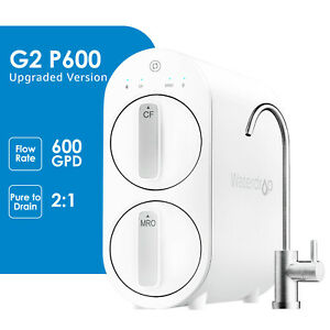 Waterdrop RO Reverse Osmosis Water Filtration System 600 GPD Smart Panel $259.99