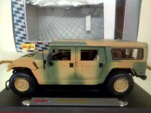 Maisto 1:18th Scale Hummer Full Camouflage Boxed Model Extremely Rare