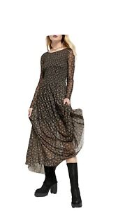 Free People 'Hello And Goodbye' Maxi Dress NEW S