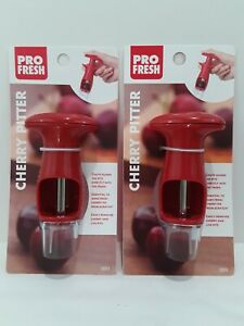 PRO FRESH CHERRY PITTER LOT OF 2