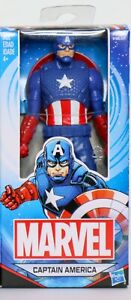 Marvel Avengers Captain America 6 Action Figure by Hasbro New in Box $12.00