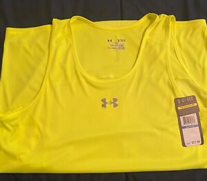 mens under armour xl shirt new with tag tank top bug and smoke free $15.00