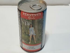 TENNENTS GIRLS VICKY IN THE PARK bottom opened EMPTY TAB TOP $4.99