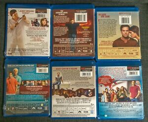 BRAND NEW Dexter Seasons 1 2 4 5 6 7 on Blu Ray SEALED SHOWTIME $49.99