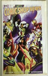 COMIC SHOP NEWS #1466 NM ALL NEW AVENGERS ALEX ROSS COVER SPIDER MAN PROMO $3.99