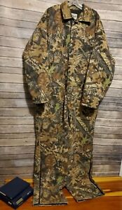 Field Staff By Mossy Oak Apparel Camo Insulate Cotton Coveralls Hunting 2XL