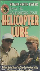 HELICOPTER LURE lt;gt; HOW TO CUSTOMIZE THEM by ROLAND MARTIN NEW amp; SEALED