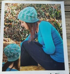SALE RARE KNITTING PATTERN: TWISTED HAT BY KOLLAGE last one $0.99