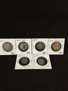 Nice Lot of US Coins Some 90% Silver Vintage Coin Collection $98.75