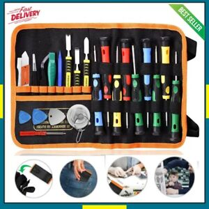 Professional Repair Tool Kit Fix iPhone Tablet Cell Phone Computers Electronics $18.49