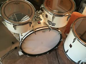 Vintage 4 pc Premier Drum Set good condition white  $395.00