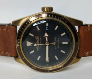 Ingersoll The Scovill Men#x27;s Radiolite Automatic Watch Bronze 43mm I05001 $349.00