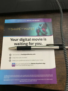 DIGITAL ONLY Shape of water 4K UHD Blu ray READ NO DISCS $4.00