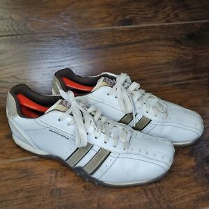 Men#x27;s Skechers 50661 White WTP Casual Athletic Shoes Size 10.5 walking shoes