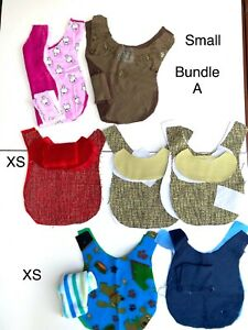 Pre cut dog coats plus instructions for home sewing AU $17.00