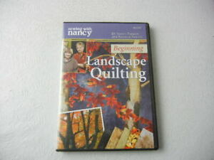 Beginning Landscape Quilting Sewing with Nancy DVD $14.99