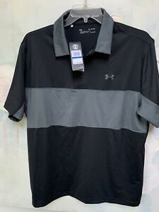New UNDER ARMOUR GOLF POLO SHIRT XL Very sharp looking with tag $65 retails $34.00