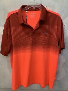New UNDER ARMOUR GOLF POLO SHIRT XXL Very sharp looking with tag $65 retails $34.00
