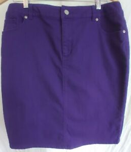 Chicos Skirt Womans Size 14 15 $18.00