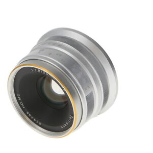 7artisans 25mm f 1.8 Manual Lens for Sony APS C E Mount Silver {46} NW $84.64