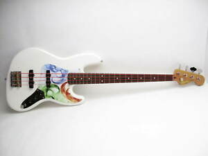 Squier Classic Vibe 60#x27;s Jazz Bass Right Handed Electric Bass Guitar