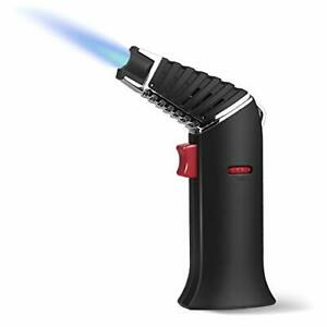 Butane Torch Refillable Woputne Rotatable Head Blow Torch Cooking Torch Adjus...