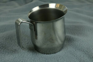Stainless Steel Milk Frothing Pitcher ILSA INOX 18 10 Made In Italy 17 oz