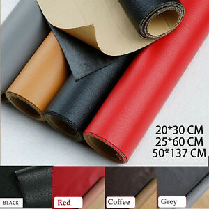Self Adhesive Leather Patch Sofa Repairing Subsidies Fabric Leather PU Stick on $8.99