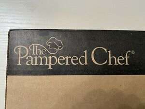 The Pampered Chef #1241 Microwave Chip Maker set of 2