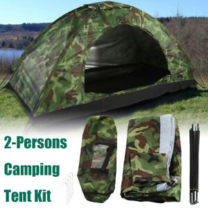1 Person Portable Outdoor Camping Tents Waterproof Folding Tent for Beach Hiking