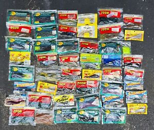 10 POUNDS OF RUBBER WORMS BAIT LURES ZOOM BASS PRO CHARMER amp; MORE