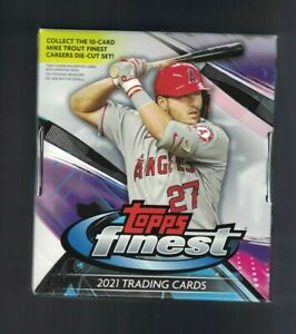 2021 Topps Finest Baseball Base RCs #1 100 Complete Your Set You Pick $0.99