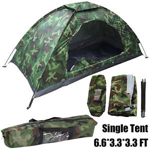 Outdoor Camping Tents Single Portable Waterproof Foldable Tents for Beach Hiking