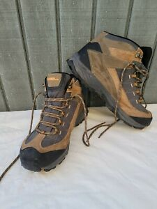 Gander MTN Mountain Trail Climber Essential Hiking Boots Mens 13M Brown Leather