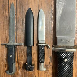 Vintage SM 1940 Germany Boy Scouts Youth Hunting Fixed Blade Knife Replica Rare
