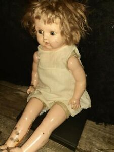 Antique Occult Doll Used in Rituals Haunted Private Collection