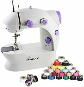 HAITRAL Household Mini Sewing Machine with 25 PCS Bobbins Sewing for Beginners $22.99