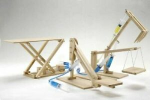 Pathfinders 5 Hydraulic Machines 4 in 1 Wooden Kit $47.49