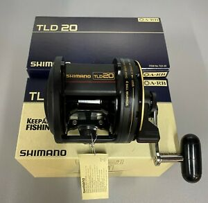 Shimano TLD20 with Fish Alarm amp; Live Liner Saltwater Fishing Reels NEW IN BOX