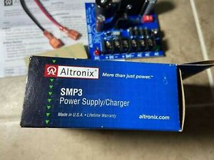 Altronix SMP3 Power Supply Battery Charger Security Access12VDC 24VDC. 2.5 A $25.00